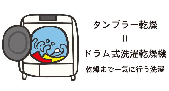 ドラム式洗濯機での注意事項