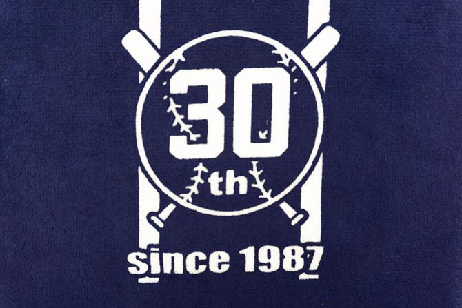 30周年タオル