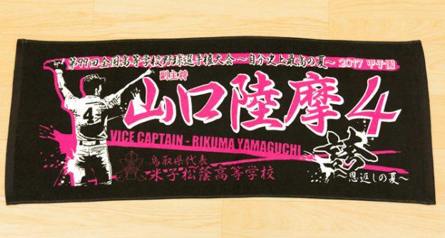 甲子園 記念品 タオル