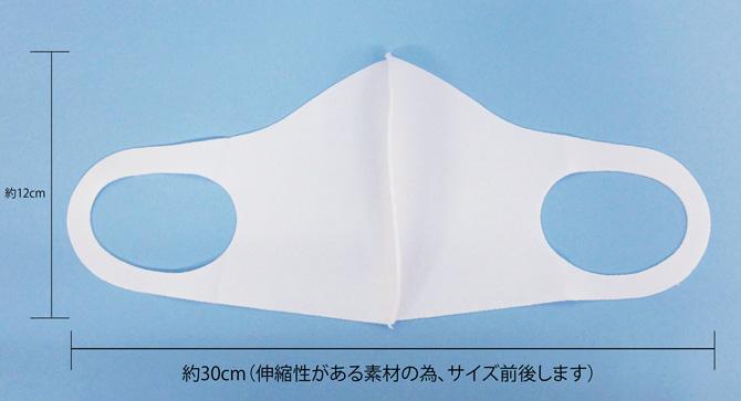 マスクの仕様、サイズ
